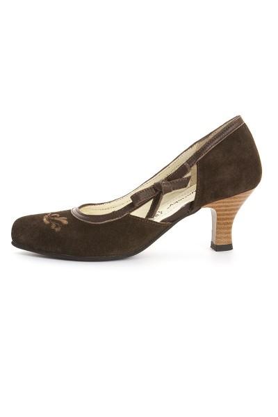 Trachten Schuhe Graziella, braun
