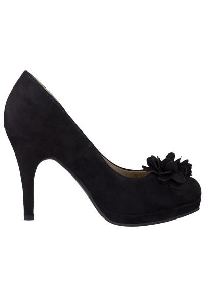 Trachten Schuhe Catherine, schwarz