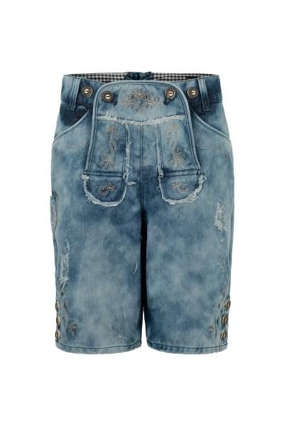 Kurze Jeanshose Erich, blau