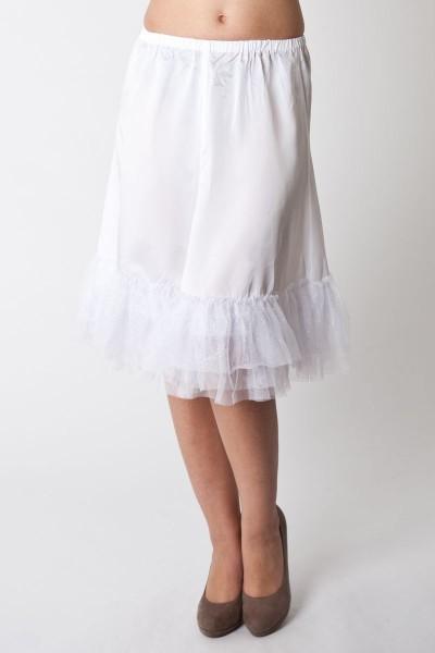 Petticoat Zoey, weiß