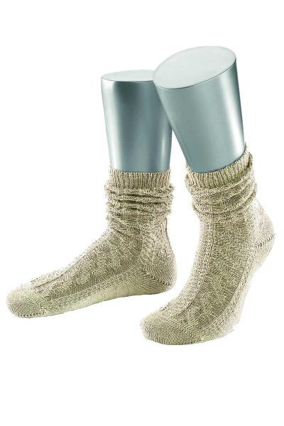Trachten Socken Würzburg, beige