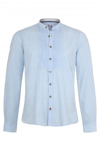 Trachtenhemd Loris, hellblau